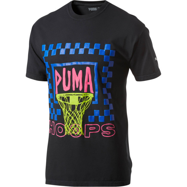 PUMA x CHINATOWN MARKET Summertime Tee, Black, large