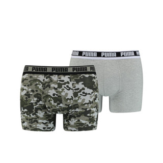 Image PUMA Men's Camo Boxer 2 pack
