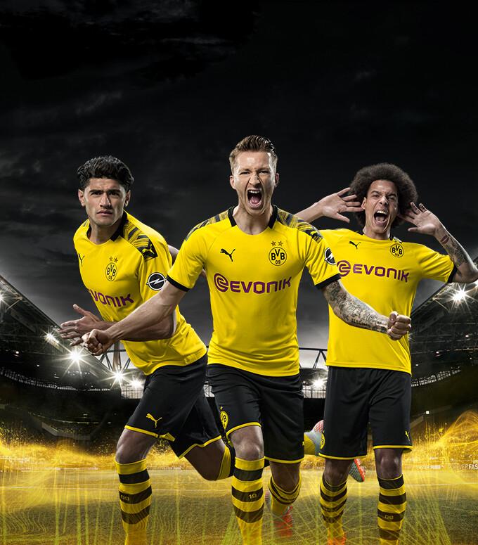 best service 5f96c 7e9da PUMA Borussia Dortmund | BVB Jersey, Kits, Teamwear, Fanwear ...