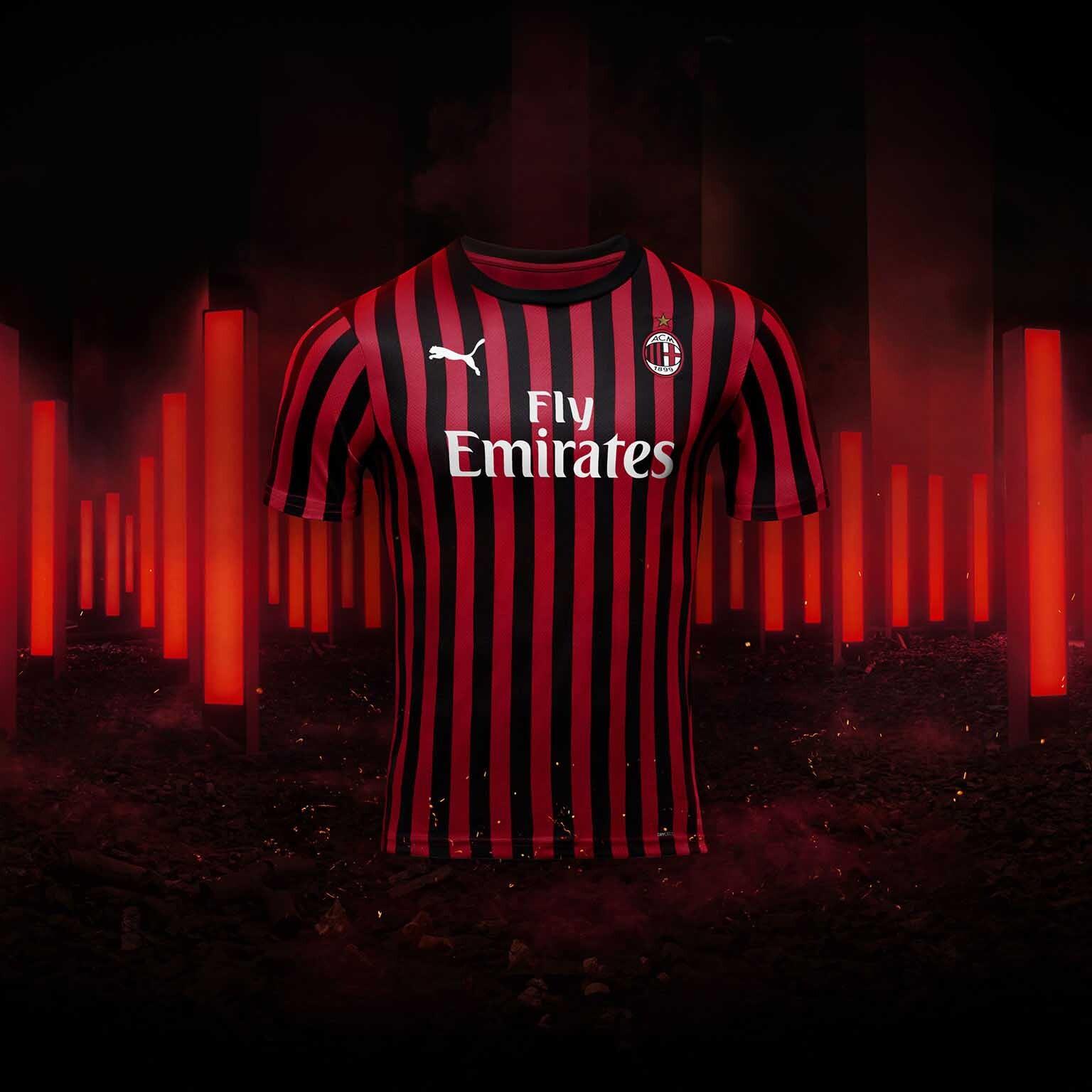 buy online 740d5 7ba28 AC Milan: A New Milan | AC Milan Kits, Jerseys, Shirts ...