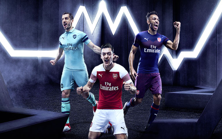 Arsenal 2018/19 Kits