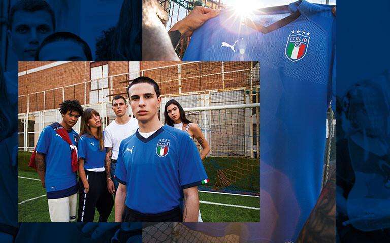 2018 Italia Home Shirt