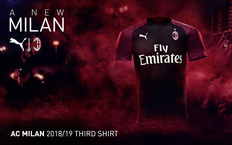 04830dba3 PUMA AC Milan | AC Milan Jerseys, Kits, Teamwear, Fanwear and more